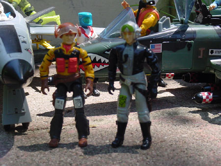 1988 Tiger Force Skystriker, Rattler, 1998, Ghostrider, Conquest, 1994 Star Brigade Payload