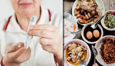makan malam penyebab gula darah naik