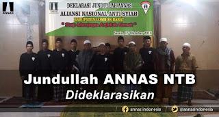Tangkal Penyebaran Syiah, Jundullah ANNAS NTB Dideklarasikan