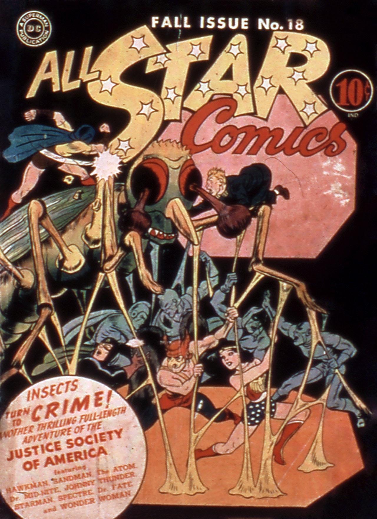 Read online All-Star Comics comic -  Issue #18 - 1