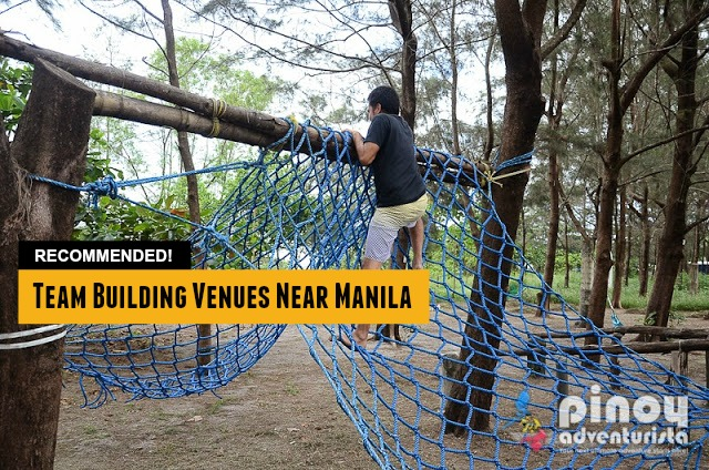 Recommended Team Building Venues and Destinations Near Metro Manila