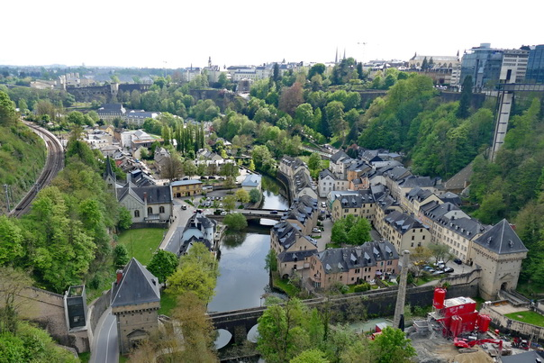 Luxembourg, Aussicht