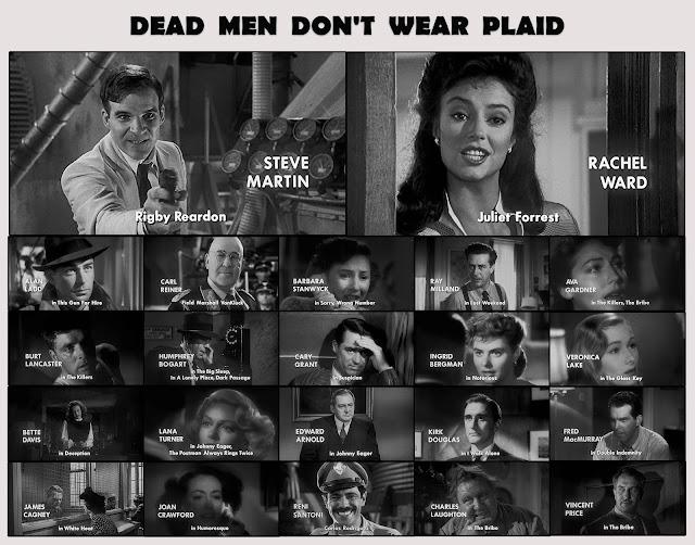Dead Men Don't Wear Plaid (1982) Oyuncular