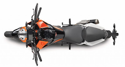 2017 KTM Duke 390 Top view image