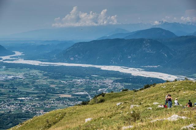 Biketour Cuarnan Udine Ausblick aufs Meer
