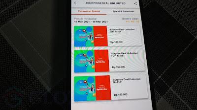 50GB 100rb, Surprise Deal Internet Sepuasnya Kembali Dihadirkan Telkomsel dari 18 - 19 Maret 2021