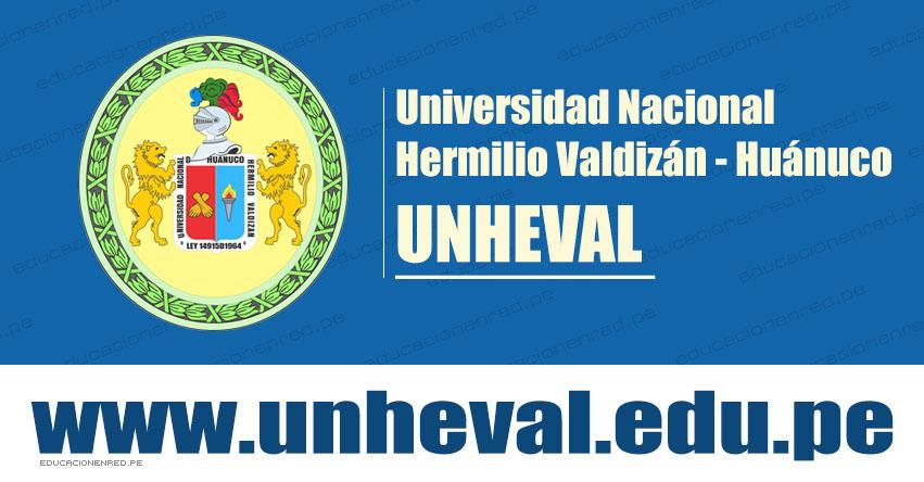 Resultados UNHEVAL 2020-1 (Domingo 8 Septiembre 2019) Lista Ingresantes - Examen Admisión Preferencial y 5to. Secundaria - Universidad Nacional Hermilio Valdizán - Huánuco - www.unheval.edu.pe