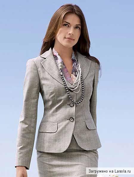 Діловий одяг для жінок. Офісна мода fd264b5122926