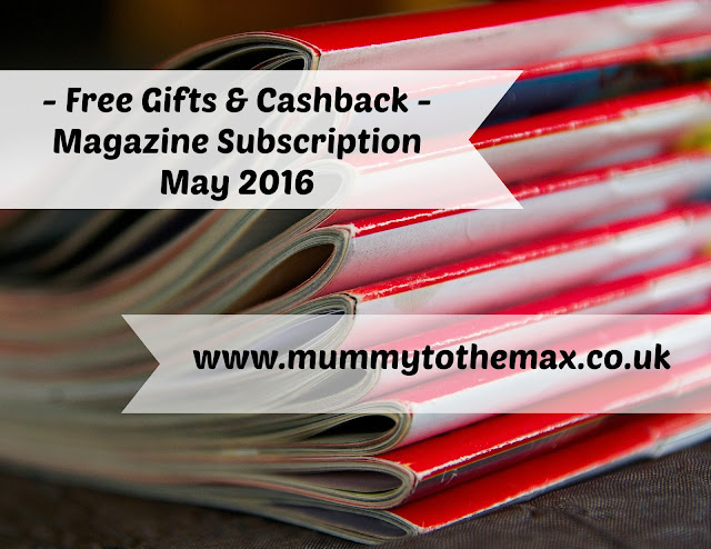 Free Gifts - Magazine Subscription