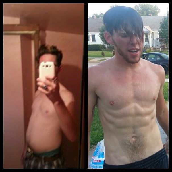 10+ Before-And-After Pics Show What Happens When You Stop Drinking - 2 Months Sober
