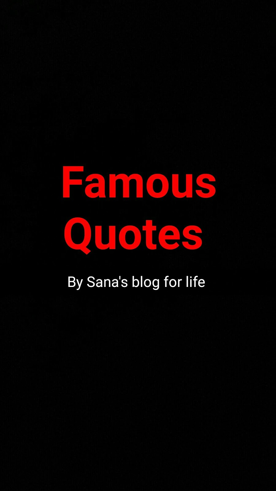 "Bad Attitude Quotes Sana's Blog For Life  My Favourite "" Quotes """