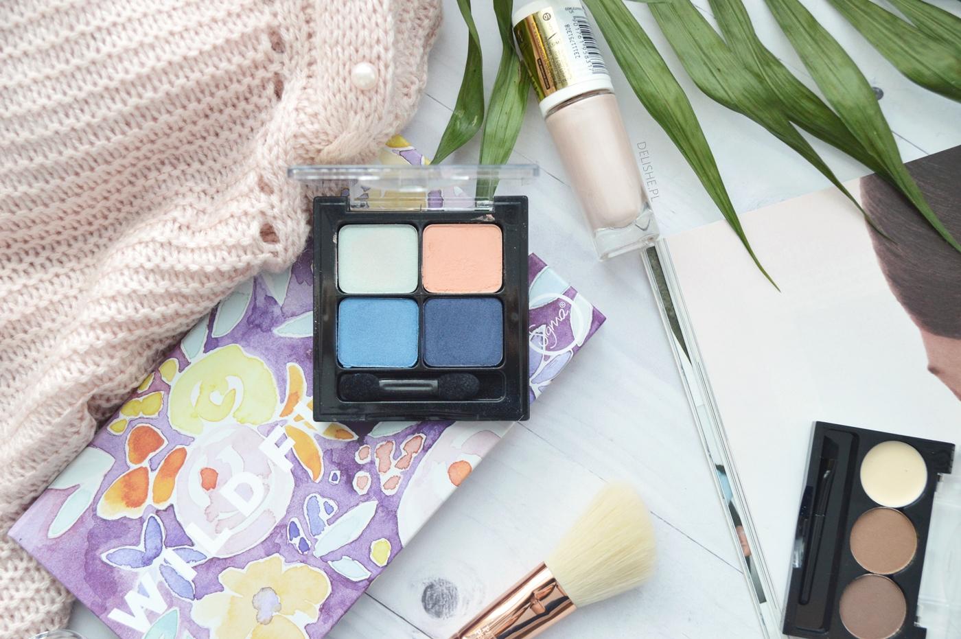eveline cosmetics paleta cieni quattro