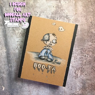 oddballart digi stamp creepy cute ghouls
