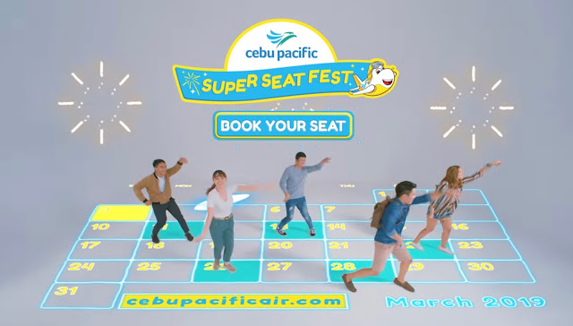 Cebu Pacific Pisa Fare Seat Sales Promos March 2019
