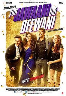 Sinopsis Film Yeh Jawaani Hai Deewani (2013)