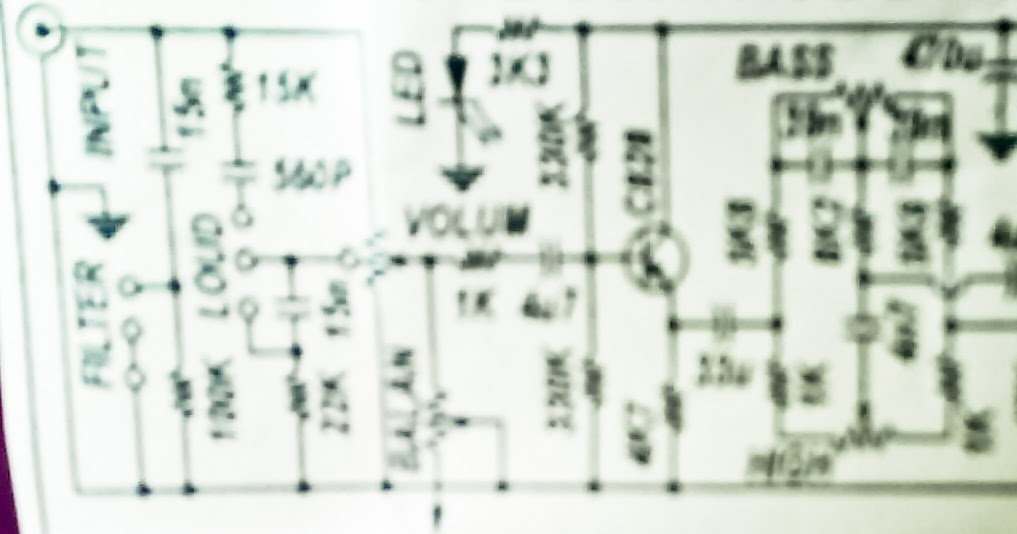 Car Subwoofer Circuit Diagram Tone Control Include Subwoofer Out