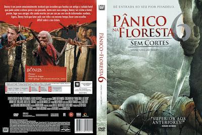 Filme Pânico na Floresta 6 (Wrong Turn 6 Last Resort) DVD Capa