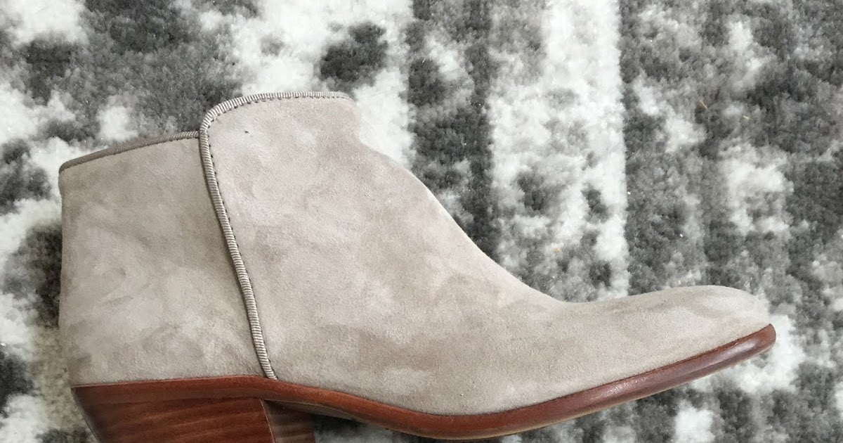 b601f8b86 Petite Impact: Obsessed with these suede booties by Sam Edelman - Petty