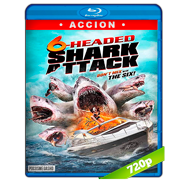 6-Headed Shark Attack (2018) BRRip 720p Audio Dual Latino-Ingles