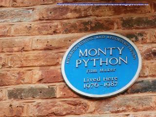 Reseña de los Monty Python en Neal's Yard