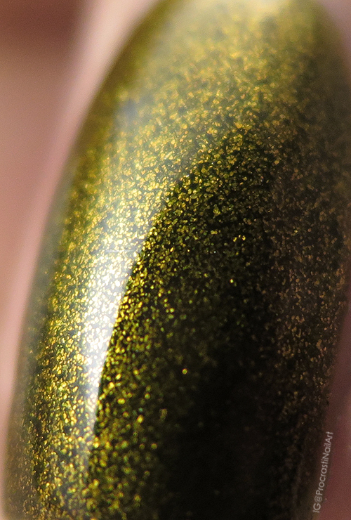 Macro of Butter London Wallis shimmer polish