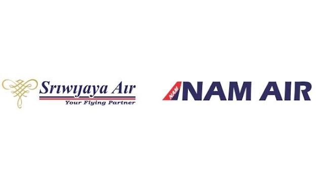 Logo Sriwijaya Air dan Nam Air