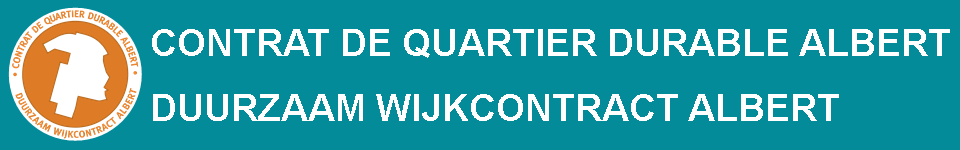 Contrat de Quartier Durable Albert (CQDA) - Duurzaam Wijkcontract Albert (DWCA)
