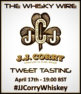 JJ Corry Tweet Tasting
