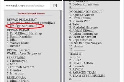 Eggy Sudjana dan Team Cyber Muslim Terlibat Sindikat SARACEN?