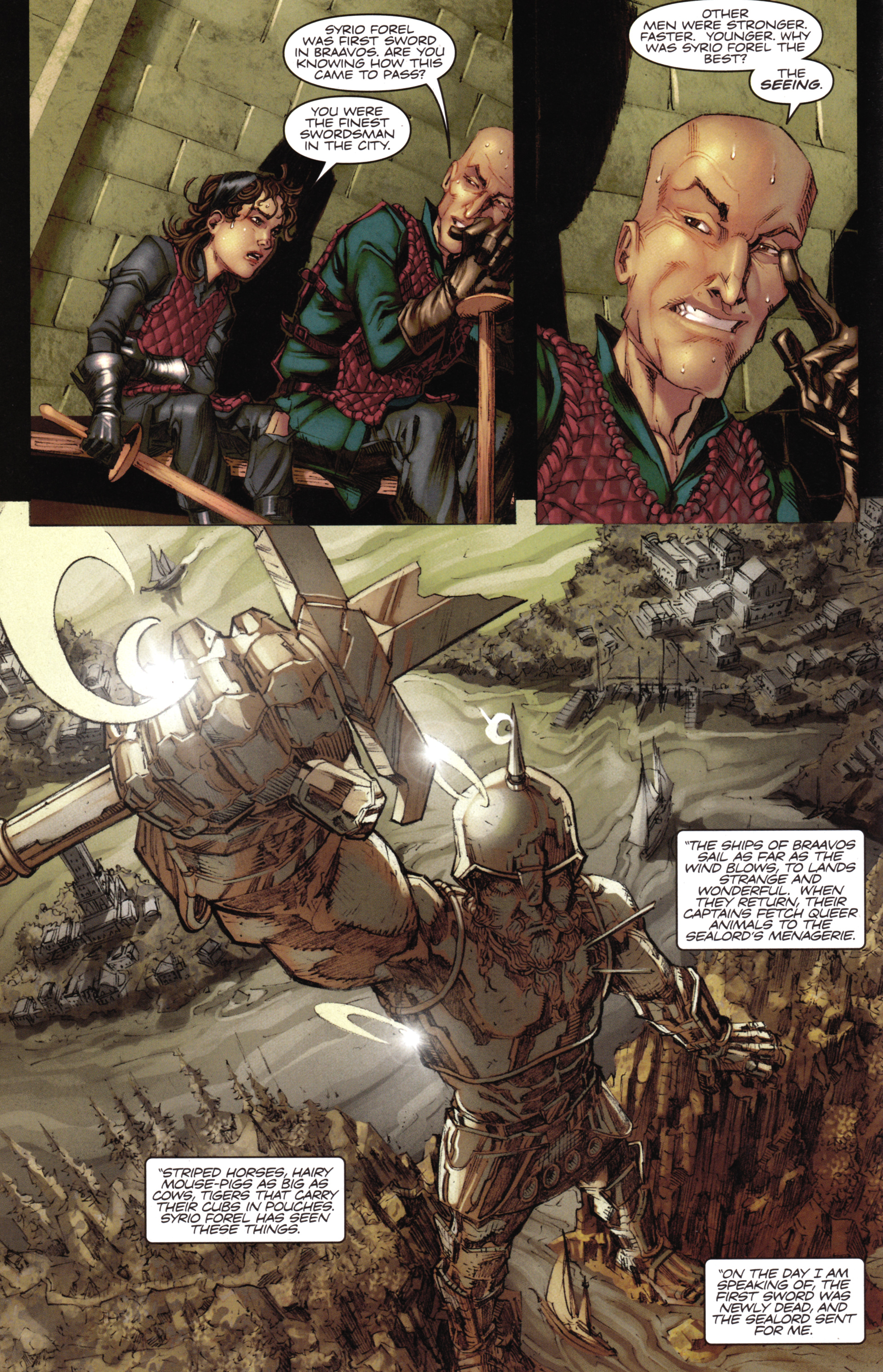 Read online A Game Of Thrones comic -  Issue #16 - 14