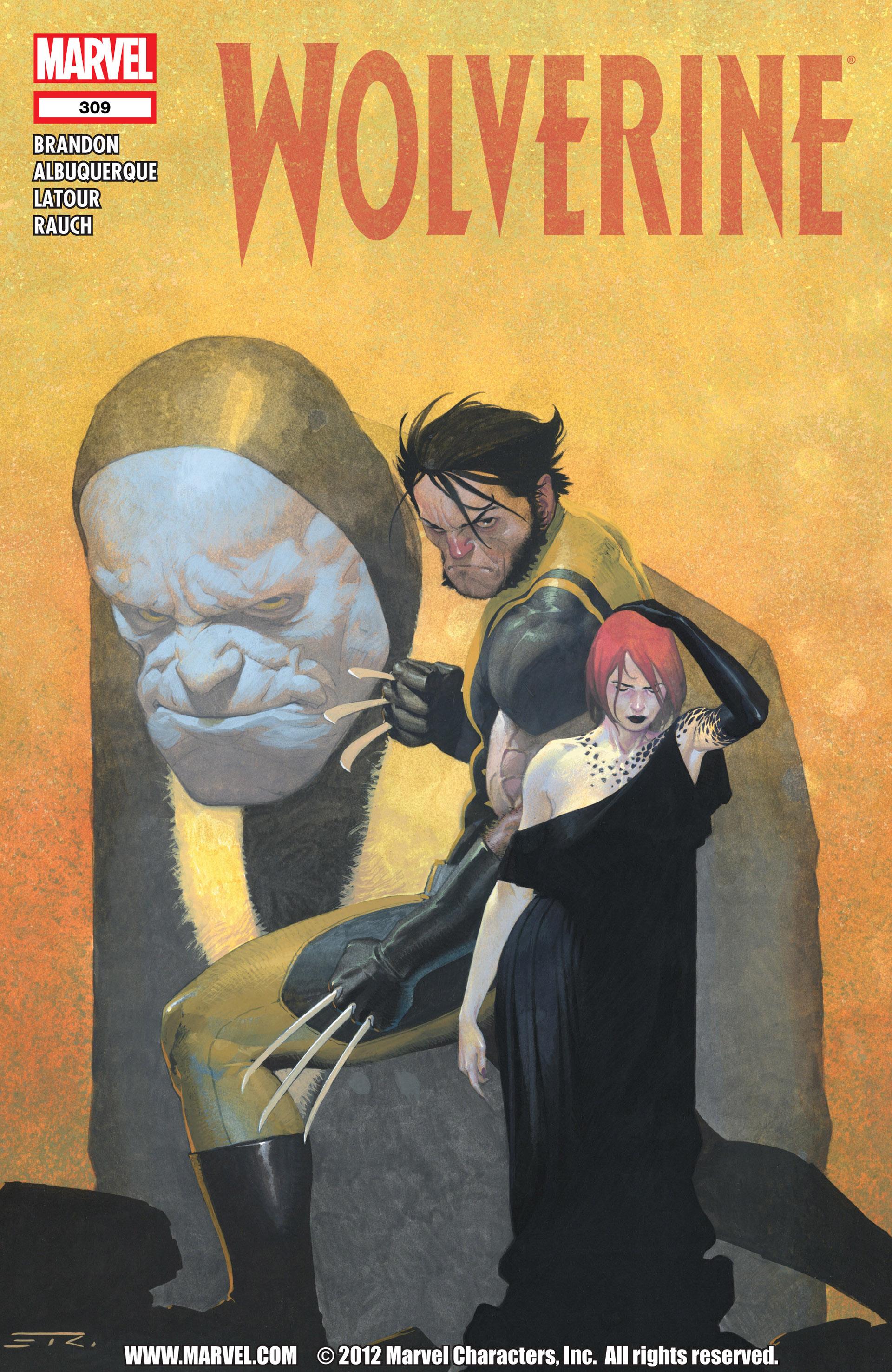Wolverine (2010) 309 Page 1