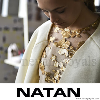Queen Maxima wore NATAN Dress - NATAN Couture AW/2015 - newmyroyals