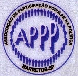 Crônica Dominical 06/04/2014 - Atendimento SUS em Barretos-SP, uma luz no fim do túnel - Logotipo da APPP - Associação de Participação Popular na Política