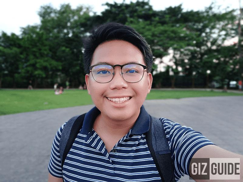 Bokeh selfie