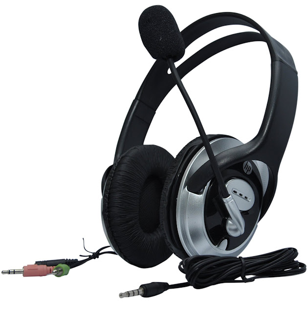 HP Headphone with Microphone (B4B09PA)
