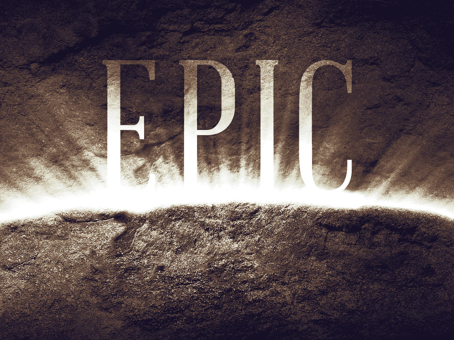 Epico Meaning: Robby Bradford's Blog: EPIC--Sunday Series For Summer 2012