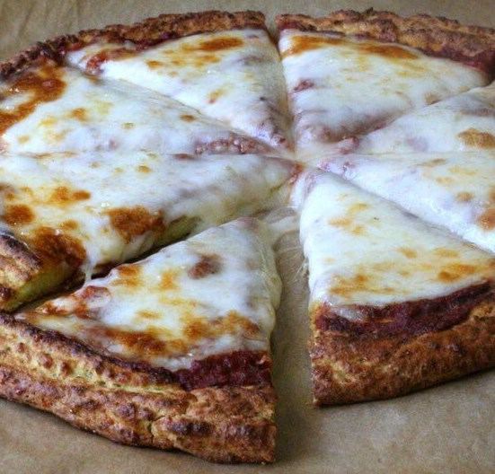 Zucchini Pizza Crust Recipe #vegetarian #easy