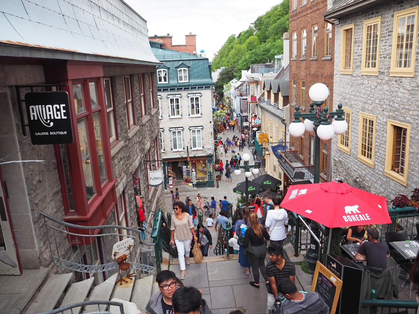 Quartier Petit-Champlain in Quebec City