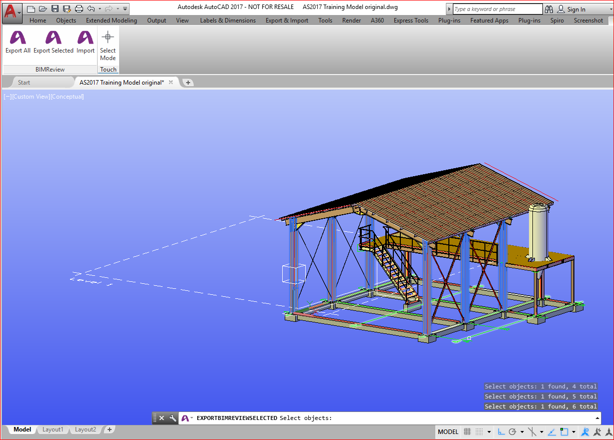 Revit Add-Ons: BIMReview Import/Export for Autodesk Advance