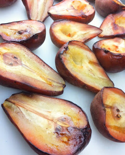 Smoked Bosc Pears