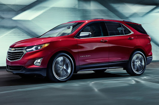 Magazin cars: 2018 CHEVROLET EQUINOX FIRST LOOK