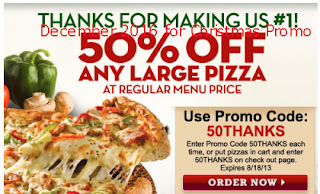 free Papa Joes Pizza coupons december 2016