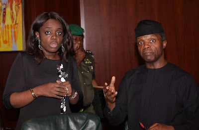 Buhari Orders Osinbajo To Also Sack His Sister Kemi Adeosun?