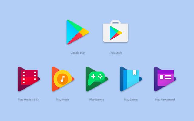 Ikon Baru Google Play