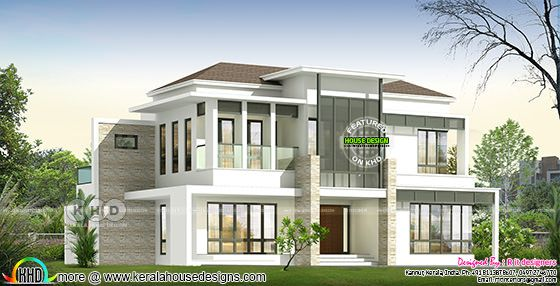 3207 square feet 4 bedroom modern house plan