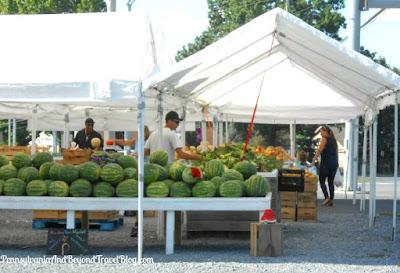 Hershey Farmer's Market in Hershey Pennsylvania