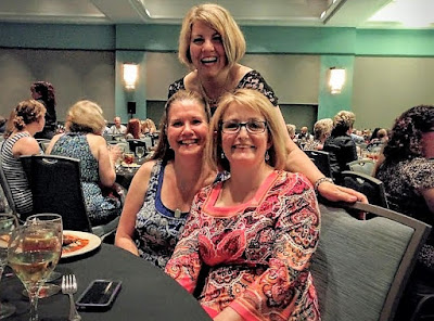 The best part of the BlogPaws conference is seeing all our blogger friends & having fun together!