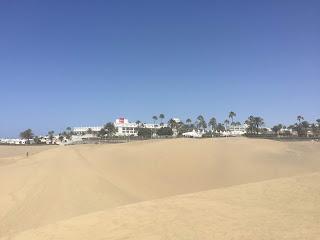 Varmen kommer til Gran Canaria