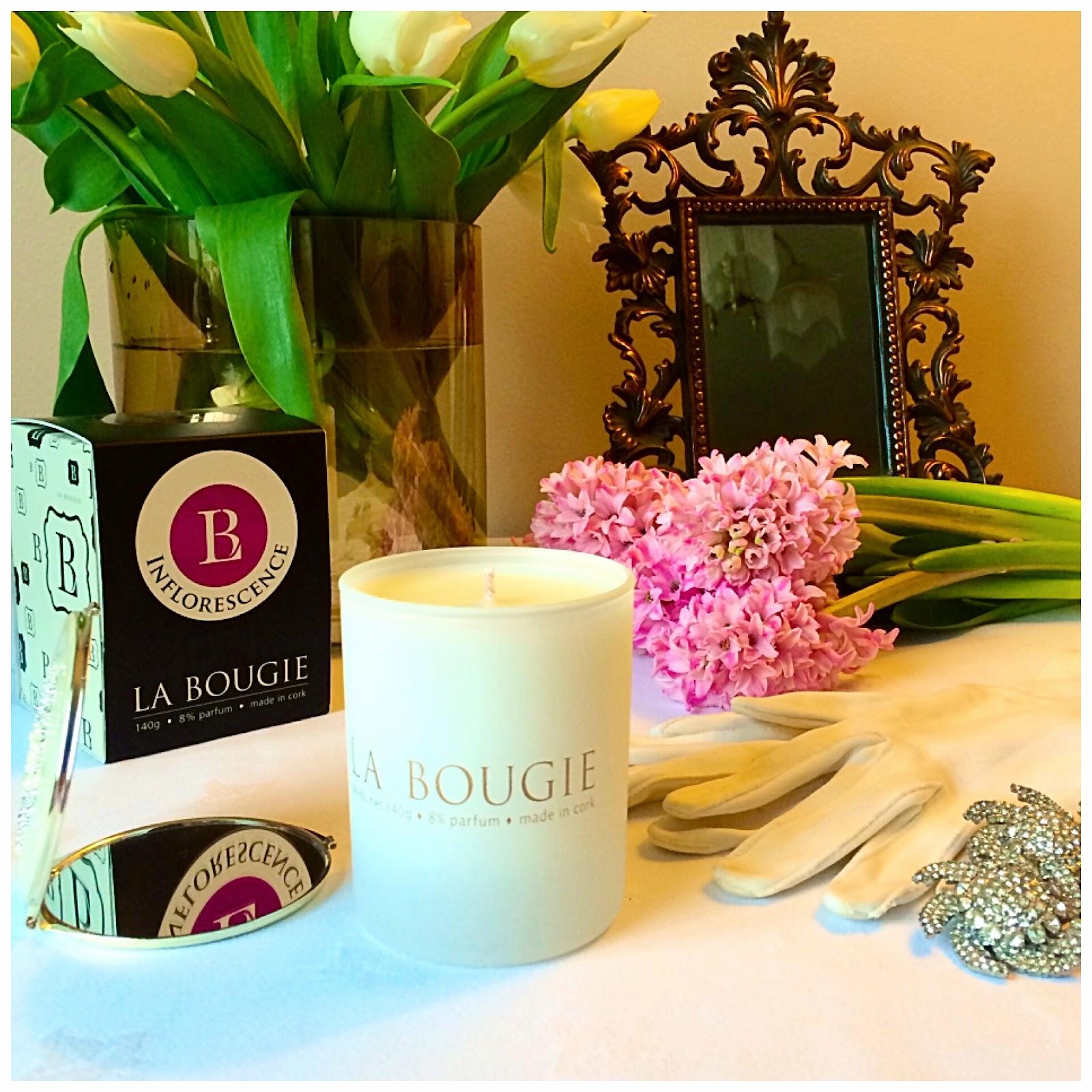 livingandbeauty.com - la Bougie Candle Infloresence