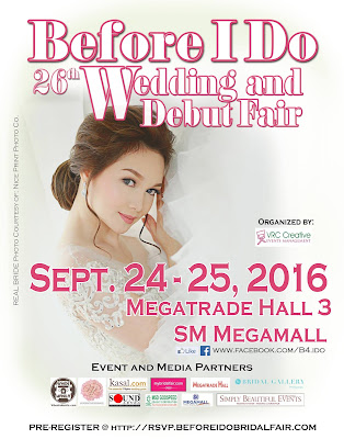 Before I Do – Wedding and Debut Fair 26th Edition Post-Event Press Release